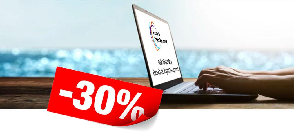 Formación online PMP al mejor precio durante este verano